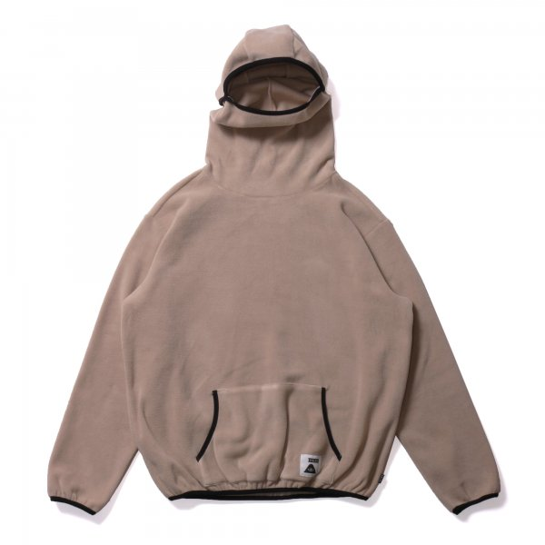 2WAY BALACLAVA FLEECE - DARK BEIGE