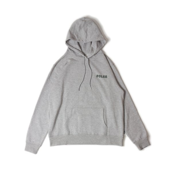 CAMP VIBES HOODIE - HEATHER GRAY
