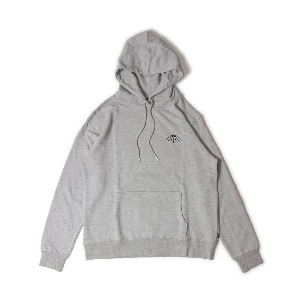 TRADEMARK HOODIE - HEATHER GRAY