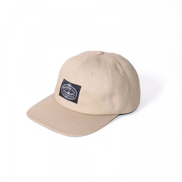 LASSO 6PANEL DRAWCORD CAP - BEIGE