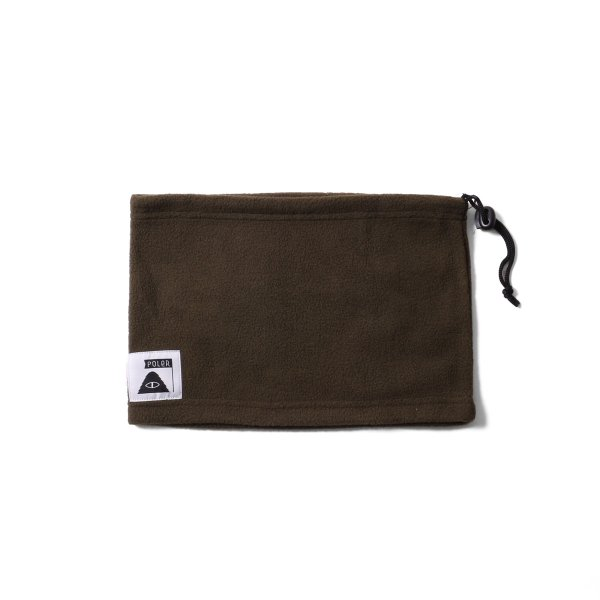 FLEECE NECK WARMER - OLIVE