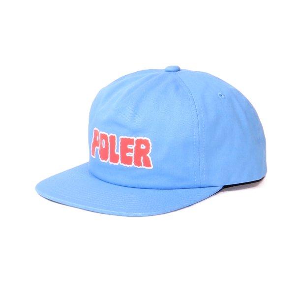 WIGGLE FONT HAT - POWDER BLUE