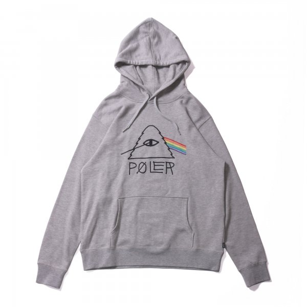PSYCHEDELIC HOODIE - HEATHER GRAY