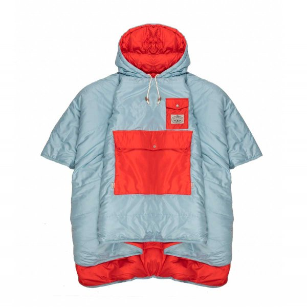 THE PONCHO - OCEAN ZISSOU RED