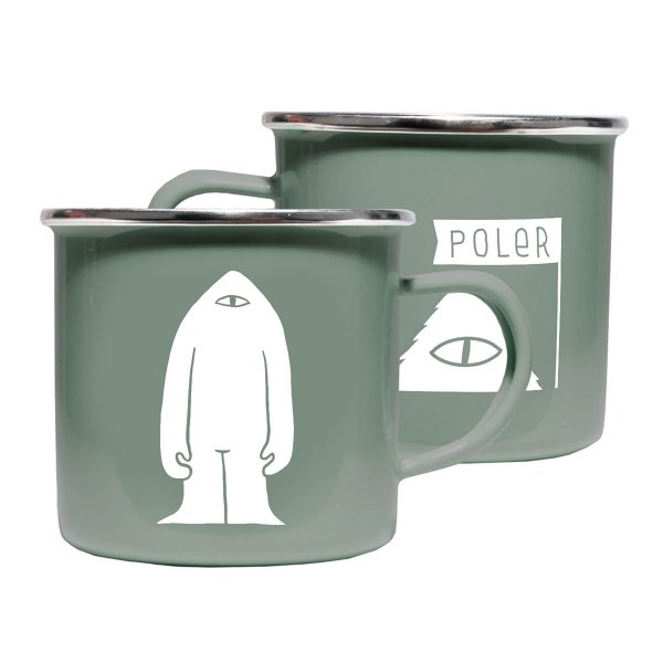 POLER CAMP MUG - LICHEN