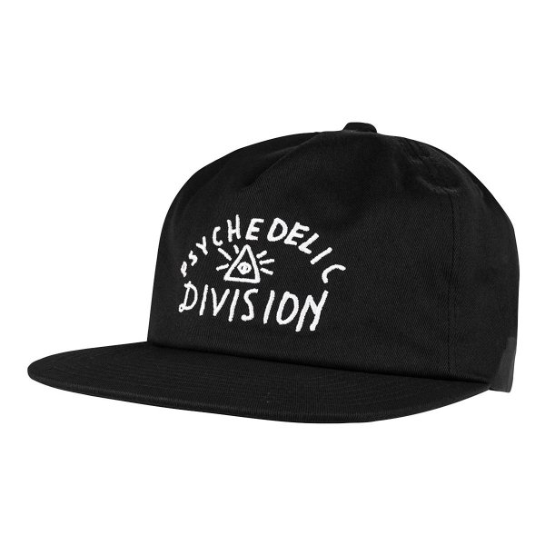 PSYCH DIVISION HAT - BLACK