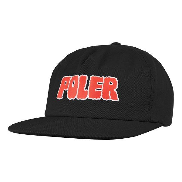 WIGGLE FONT HAT - BLACK