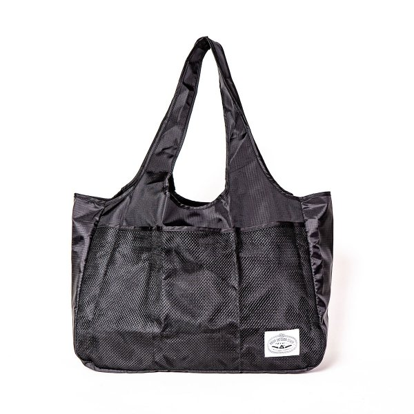 <img class='new_mark_img1' src='https://img.shop-pro.jp/img/new/icons5.gif' style='border:none;display:inline;margin:0px;padding:0px;width:auto;' />PACKABLE ECO BAG L - BLACK