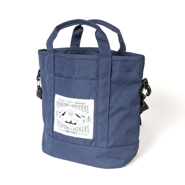 <img class='new_mark_img1' src='https://img.shop-pro.jp/img/new/icons5.gif' style='border:none;display:inline;margin:0px;padding:0px;width:auto;' />MINI TOTE - NAVY