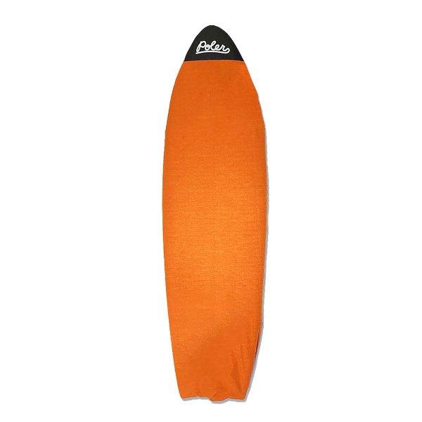 SURF BOARD KNIT CASE/RETRO 5'10 - POLER ORANGE