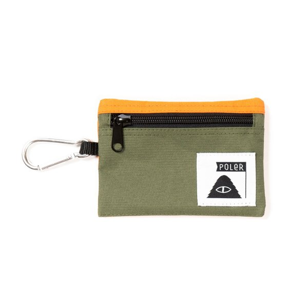 <img class='new_mark_img1' src='https://img.shop-pro.jp/img/new/icons5.gif' style='border:none;display:inline;margin:0px;padding:0px;width:auto;' />UTILITY WALLET - OLIVE / ORANGE
