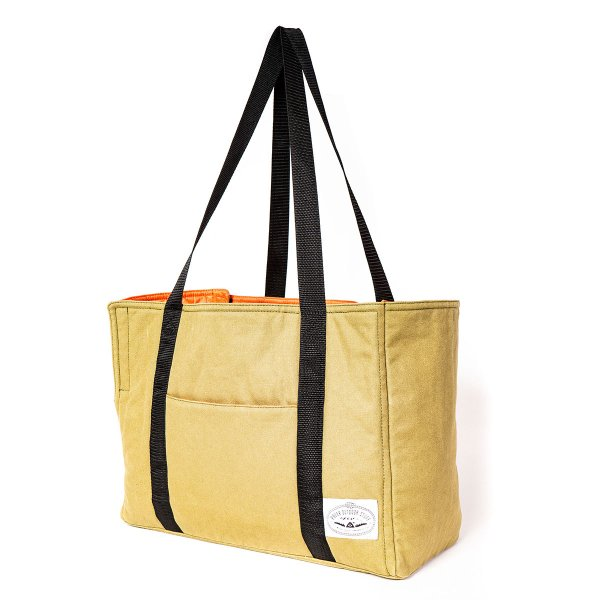 <img class='new_mark_img1' src='https://img.shop-pro.jp/img/new/icons5.gif' style='border:none;display:inline;margin:0px;padding:0px;width:auto;' />2WAY CARRY TOTE - OLIVE / ORANGE