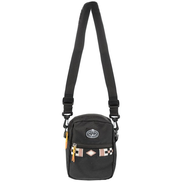 <img class='new_mark_img1' src='https://img.shop-pro.jp/img/new/icons5.gif' style='border:none;display:inline;margin:0px;padding:0px;width:auto;' />VICES SHOULDER BAG - BLACK