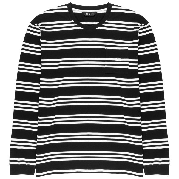 <img class='new_mark_img1' src='https://img.shop-pro.jp/img/new/icons5.gif' style='border:none;display:inline;margin:0px;padding:0px;width:auto;' />RUFUS KNIT LONG SLEEVE - BLACK
