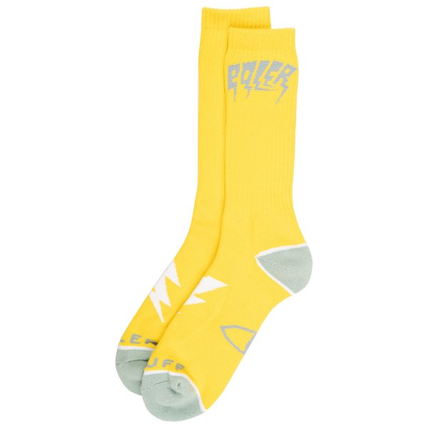 <img class='new_mark_img1' src='https://img.shop-pro.jp/img/new/icons5.gif' style='border:none;display:inline;margin:0px;padding:0px;width:auto;' />BOLTUP SOCKS - YELLOW