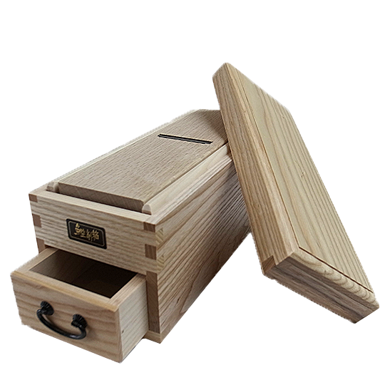 鰹節削り箱白木