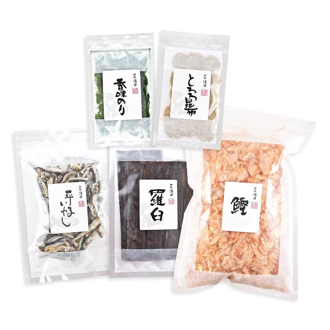 本格麺つゆ5点セット(関西流)(送料込み*)