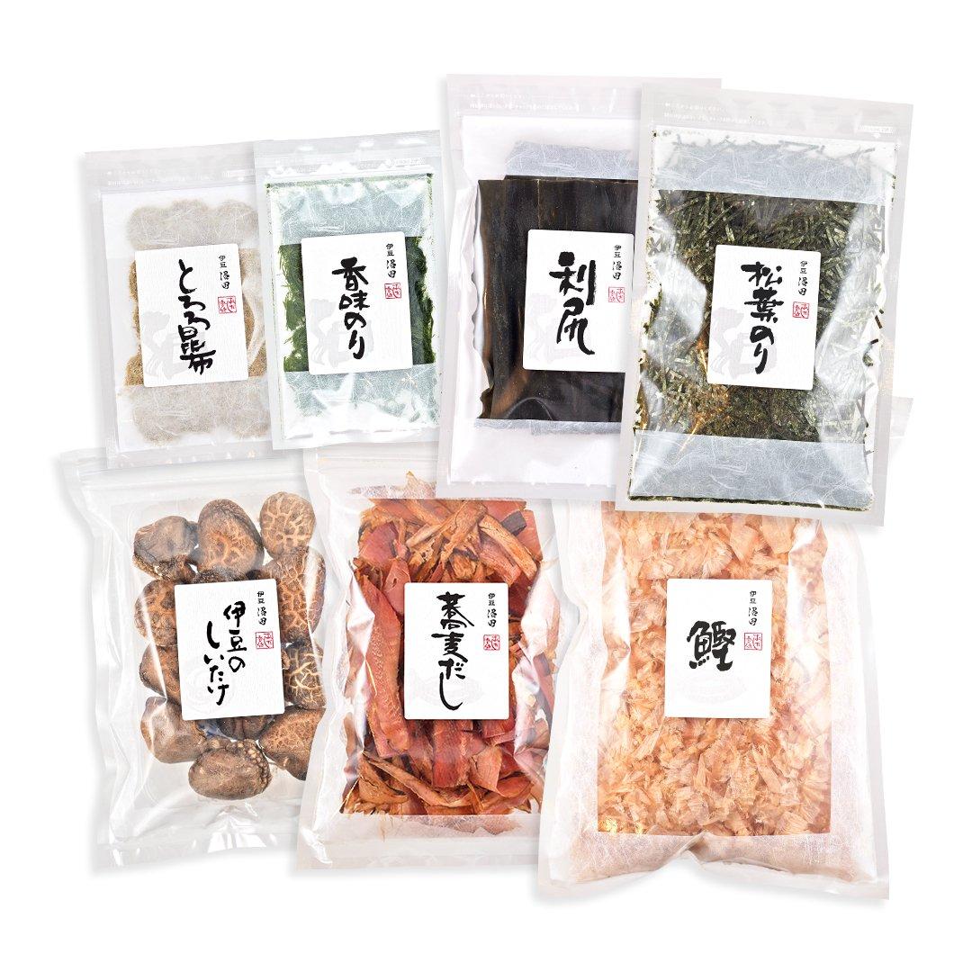 [敬老の日]本格麺つゆ7点セット(送料込み*)