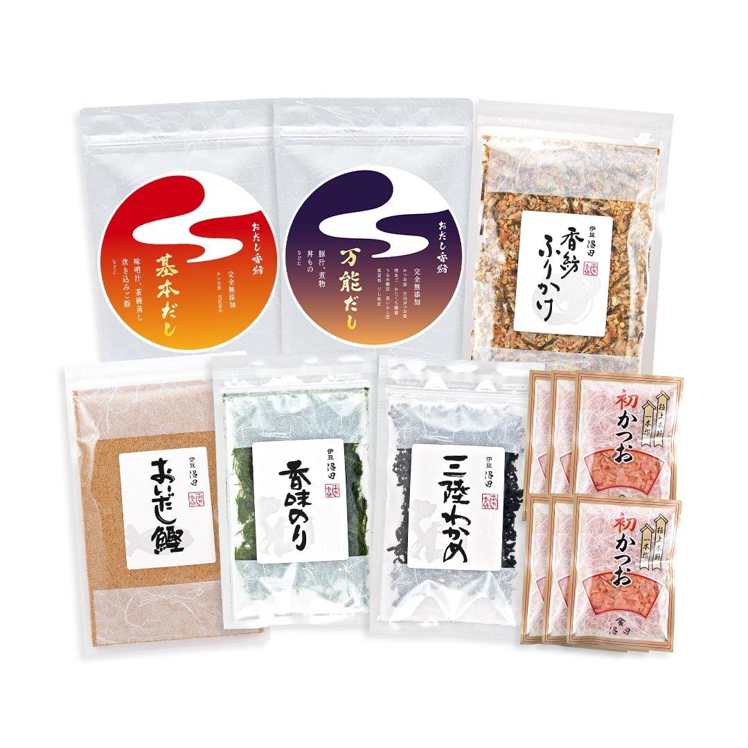 [内祝い] おだし香紡人気商品7点セット(送料込み*)