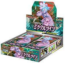 ポケモンカードゲーム サン&ムーン 強化拡張パック「ミラクルツイン」 BOX