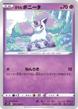 【ポケモンカードゲーム】ガラル ポニータ【C】[S1H]
