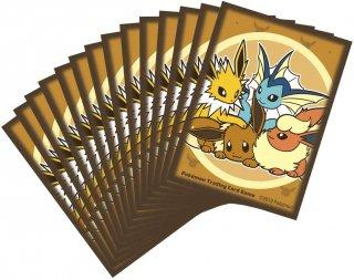 海外ポケモンセンター限定 ポケモンカードゲーム デッキシールド カードスリーブ イーブイフレンドシップ