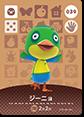 【どうぶつの森 amiiboカード第1弾】ジーニョ No.039