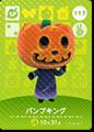 【どうぶつの森 amiiboカード第2弾】パンプキング【SP】 No.117