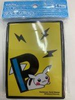 ポケモンカードゲーム デッキシールド PIKAPIKACHU YE