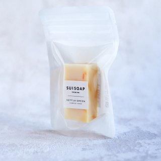 手摘みカレンデュラ石鹸(ハーフサイズ)