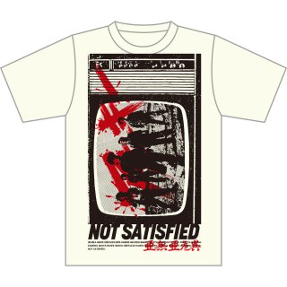 <img class='new_mark_img1' src='https://img.shop-pro.jp/img/new/icons5.gif' style='border:none;display:inline;margin:0px;padding:0px;width:auto;' />NOT SATISFIED T-SHIRTS NATURAL