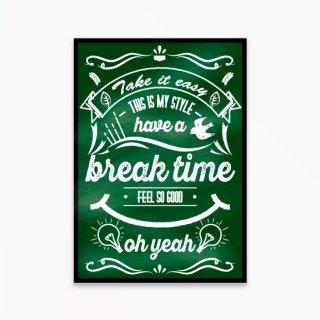 break time green