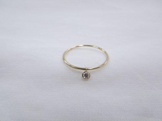 drop diamond ring