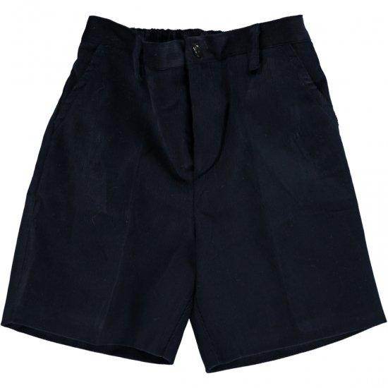 Amaia Kids - Gull shorts - Navy Corduroy アマイアキッズ - コーデュロイパンツ