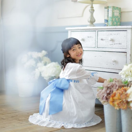 【オーダー受付】Amaia Kids - Riley dress アマイアキッズ -ドレス