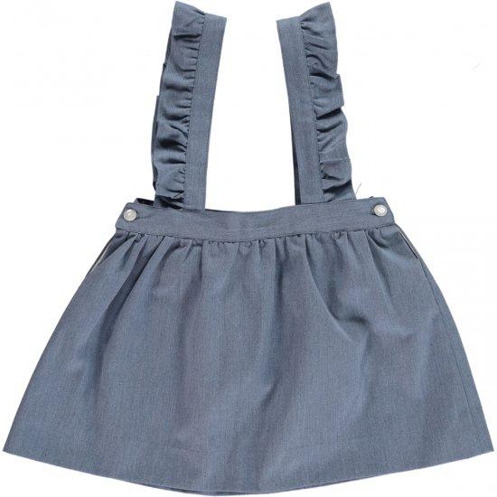 Amaia Kids - Molly skirt - denim アマイアキッズ - デニムスカート