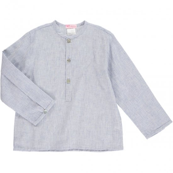 Amaia Kids - Victor shirt - blue アマイアキッズ - シャツ