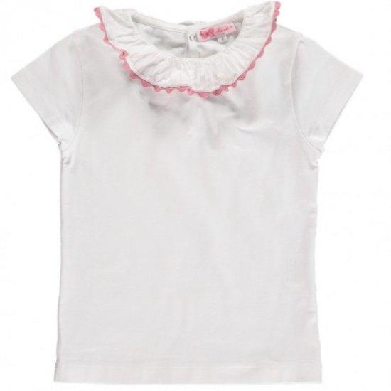 Amaia Kids - Chelsea Top short sleeve - Pink アマイアキッズ - 半袖トップス・ボディースーツ