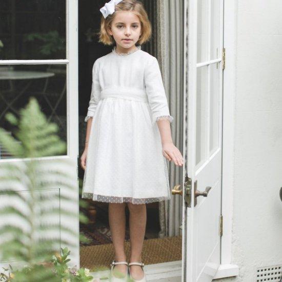 【オーダー受付】Amaia Kids - Octavie dress アマイアキッズ -ドレス