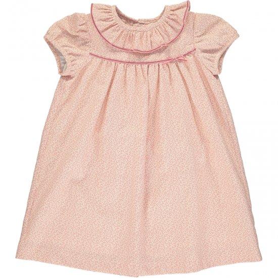 Amaia Kids - Ruby dress - Pink アマイアキッズ - フリルワンピース
