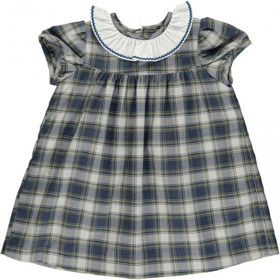 Amaia Kids - Ruby dress - Tartan アマイアキッズ - タータンチェックワンピース