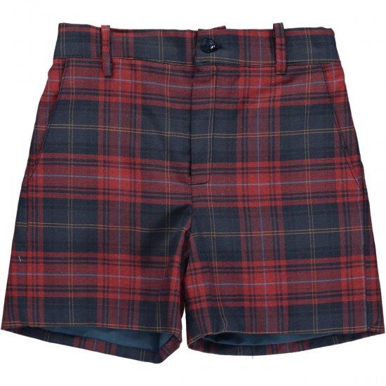 Amaia Kids - Gull shorts - Tartan アマイアキッズ - タータンチェックパンツ