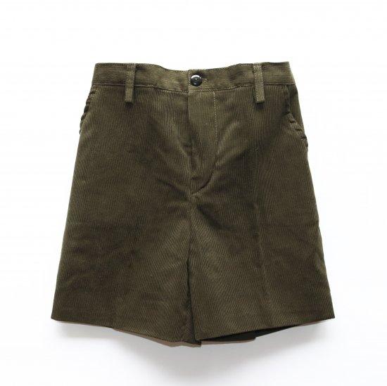 Amaia Kids - Gull shorts - Khaki Corduroy アマイアキッズ - コーデュロイパンツ