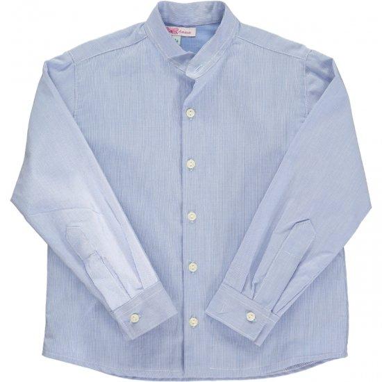 Amaia Kids - Pereprine shirt - Blue アマイアキッズ - シャツ