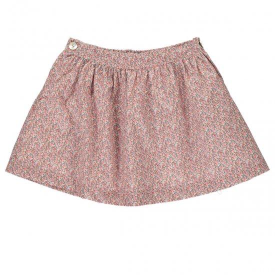 Amaia Kids - Eloise skirt - Liberty pink アマイアキッズ - リバティプリントスカート