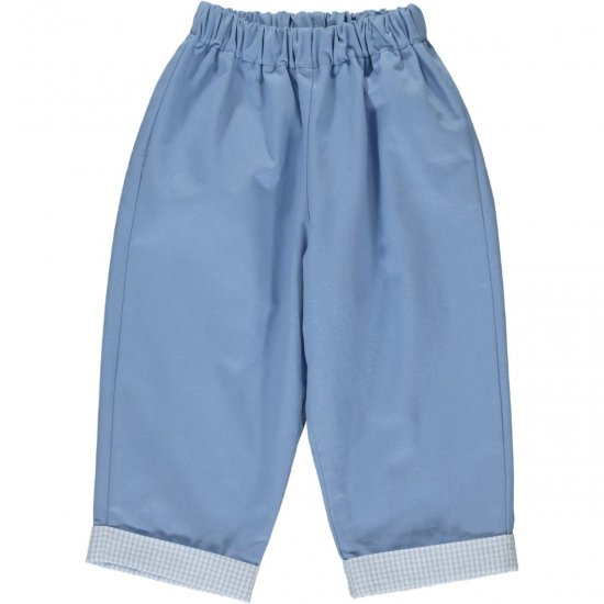 Amaia Kids - Tito trousers - Light blue アマイアキッズ - パンツ