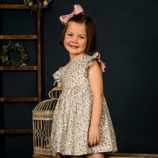 Amaia Kids - Liatris dress - Liberty アマイアキッズ - リバティプリントワンピース
