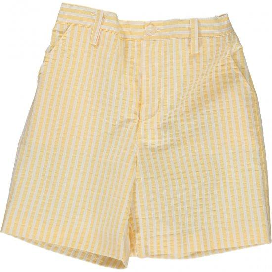 Amaia Kids - Gull shorts - Yellow stripe アマイアキッズ - パンツ