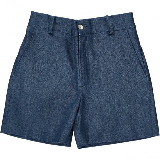 Amaia Kids - Gull shorts - Denim アマイアキッズ - パンツ
