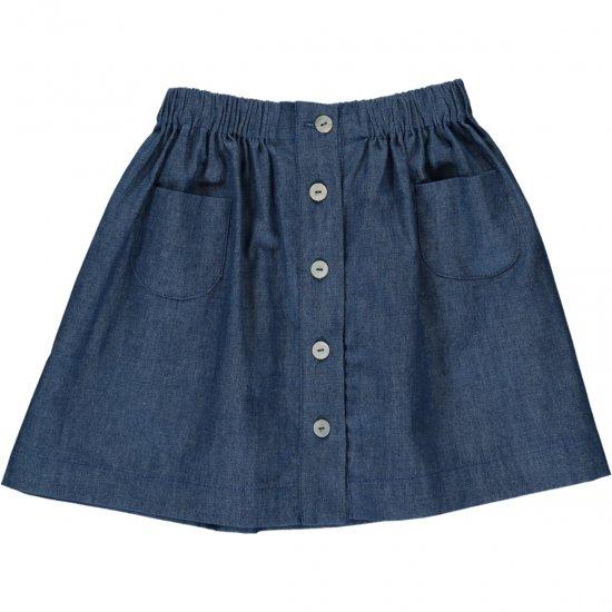 Amaia Kids - Juliette Skirt - Denim アマイアキッズ - スカート